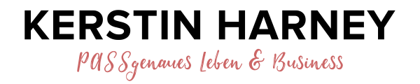 Kerstin Harney PASSgenaues Leben & Business Logo